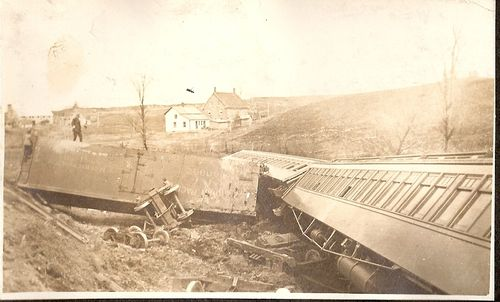 49 CPR Wreck Lennoxville 1914