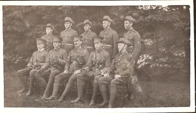 23-Officers adn Non Coms 1914